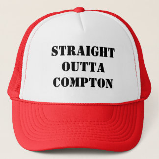 straight outta compton, ya heard trucker hat