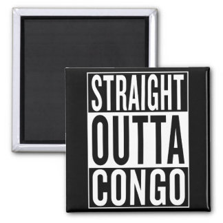 straight outta Congo Magnet