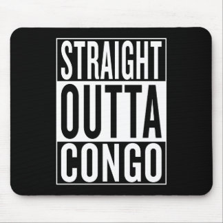 straight outta Congo Mouse Pad
