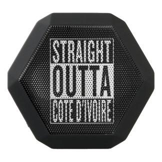 straight outta Cote d'Ivoire Black Bluetooth Speaker