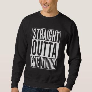 straight outta Cote d'Ivoire Sweatshirt