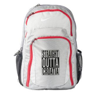 straight outta Croatia Backpack