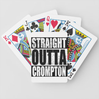 Straight Outta Crompton (Oldham) Bicycle Playing Cards