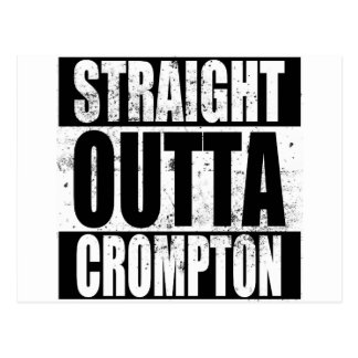 Straight Outta Crompton (Oldham) Postcard