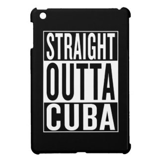 straight outta Cuba iPad Mini Cover