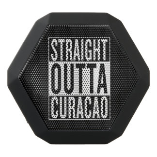 straight outta Curacao Black Bluetooth Speaker