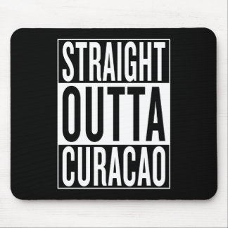 straight outta Curacao Mouse Pad