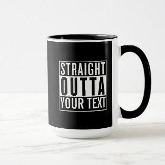Straight Outta Custom Mugs
