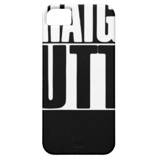STRAIGHT OUTTA CUSTOM YOUR TEXT HERE TEE CASE FOR THE iPhone 5