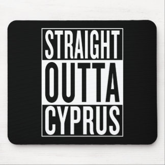 straight outta Cyprus Mouse Pad