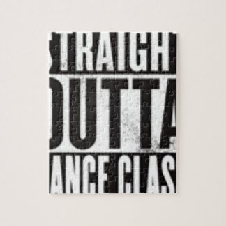 Straight Outta Dance Class Jigsaw Puzzle
