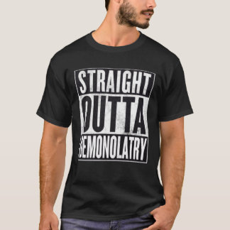Straight Outta Demonolatry Occult Graphic Tee