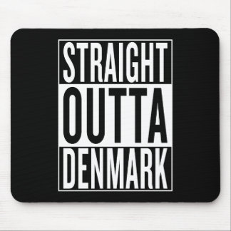 straight outta Denmark Mouse Pad