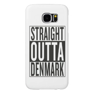 straight outta Denmark Samsung Galaxy S6 Cases
