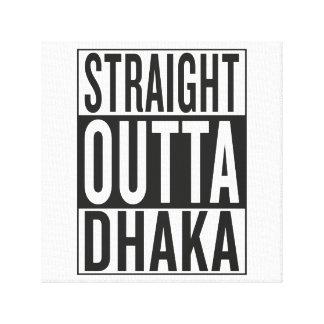 straight outta Dhaka Canvas Print