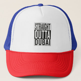 straight outta Dubai Trucker Hat