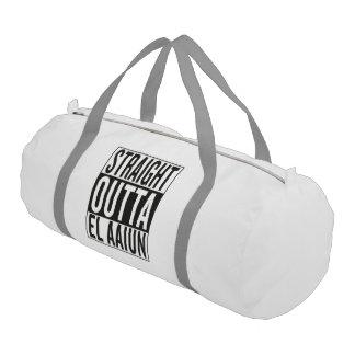 straight outta El Aaiun Gym Duffel Bag