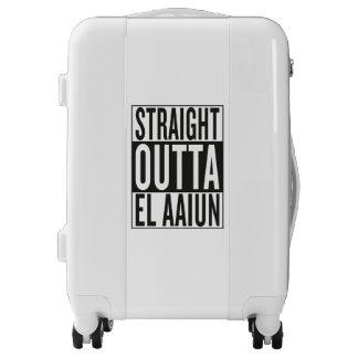 straight outta El Aaiun Luggage