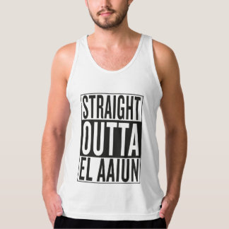straight outta El Aaiun Singlet