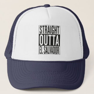 straight outta El Salvador Trucker Hat