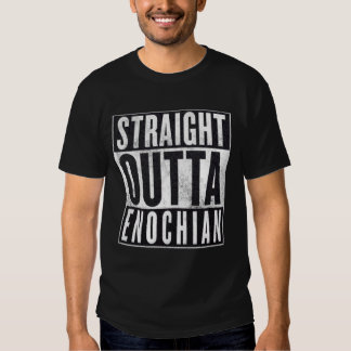 Straight Outta Enochian Occult Graphic Tee