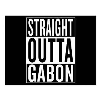 straight outta Gabon Postcard