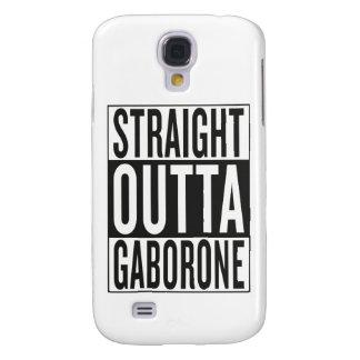 straight outta Gaborone Samsung Galaxy S4 Cases