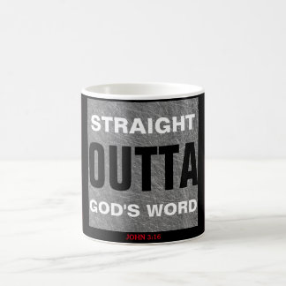 Straight Outta God's Word Mug