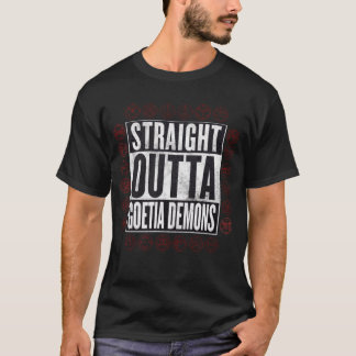 Straight Outta Goetia Demons Occult Graphic Tee