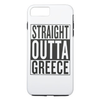 straight outta Greece iPhone 7 Plus Case