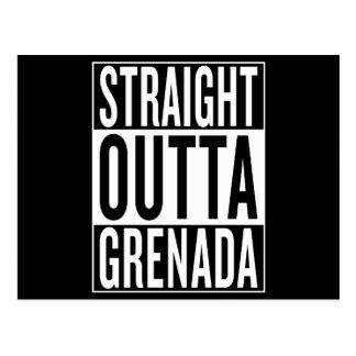 straight outta Grenada Postcard