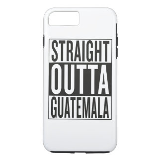 straight outta Guatemala iPhone 7 Plus Case