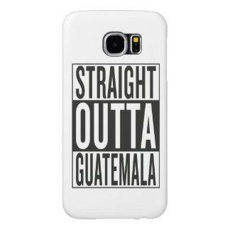 straight outta Guatemala Samsung Galaxy S6 Cases