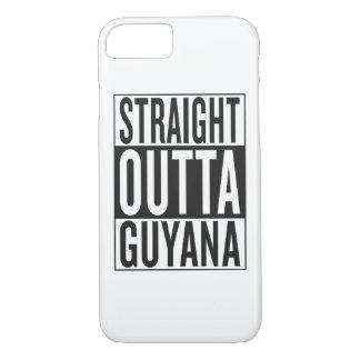 straight outta Guyana iPhone 7 Case