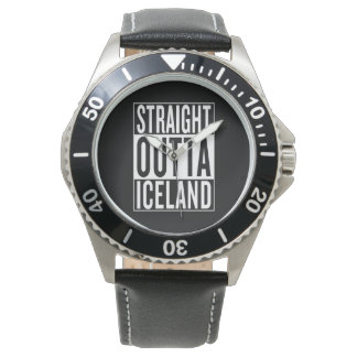 straight outta Iceland Watches