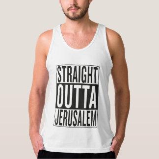 straight outta Jerusalem Singlet