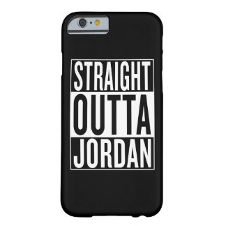 straight outta Jordan Barely There iPhone 6 Case