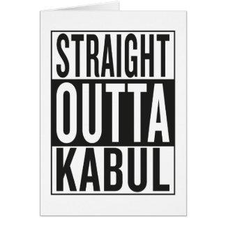 straight outta Kabul Card