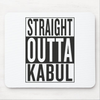 straight outta Kabul Mouse Pad