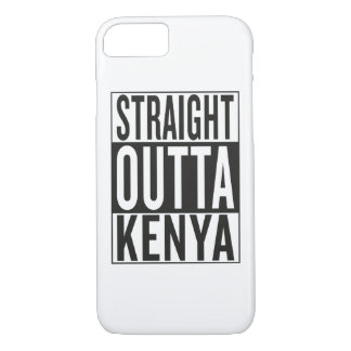 straight outta Kenya iPhone 7 Case