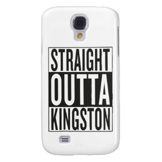 straight outta Kingston Galaxy S4 Case