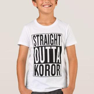 straight outta Koror T-Shirt