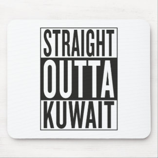 straight outta Kuwait Mouse Pad