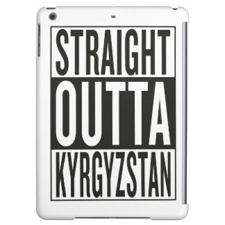 straight outta Kyrgyzstan