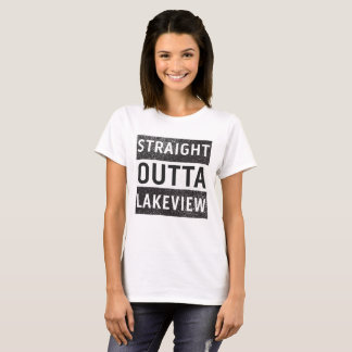 Straight Outta Lakeview New Orleans 70124 T-Shirt