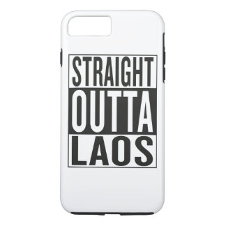 straight outta Laos iPhone 7 Plus Case