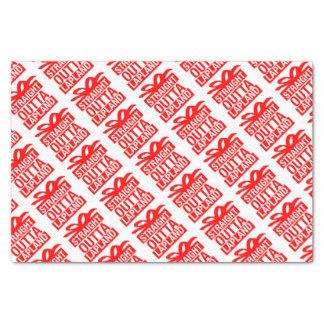 Straight Outta Lapland Tissue Paper