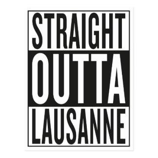 straight outta Lausanne Postcard