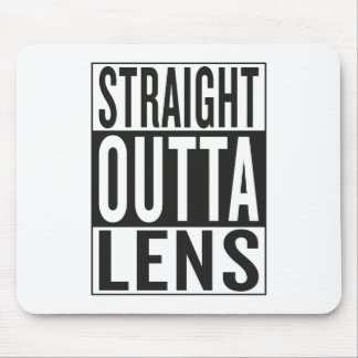 straight outta Lens Mouse Pad