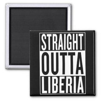 straight outta Liberia Magnet